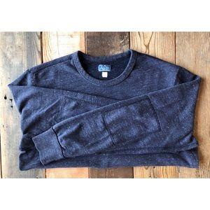 J.Crew Marled Sweatshirt w/ Elbow Patches